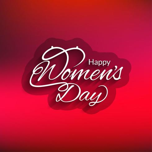 Modern Women's day background