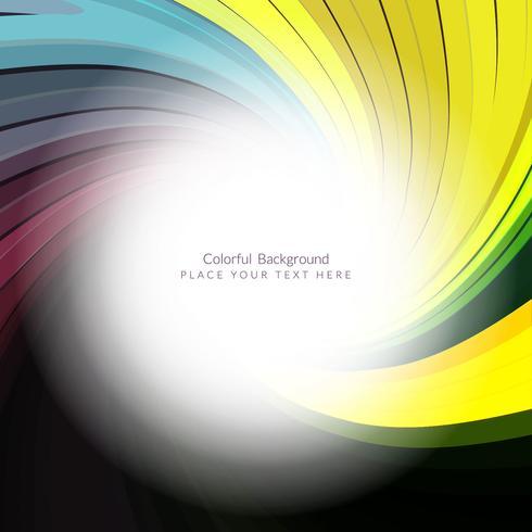 Modern elegant wave background vector
