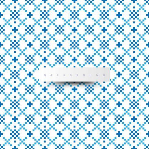 Digital textur. Trendigt mönster med blå färg