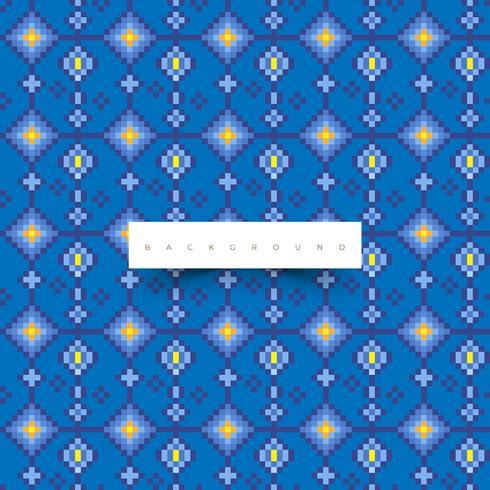 Textura digital. Padrão na moda com cor azul
