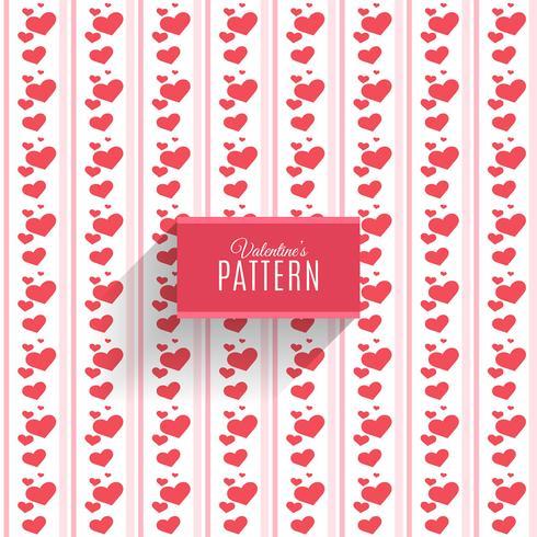 Patrón sin costuras de corazones