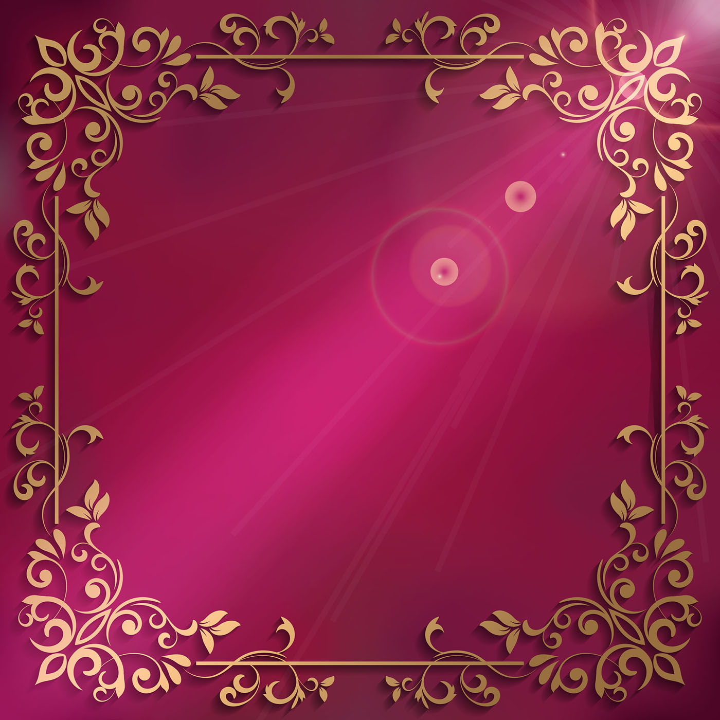Elegant Background With Decorative Frame Download Free