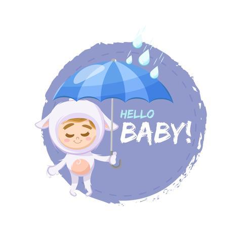 Diseño encantador bebé