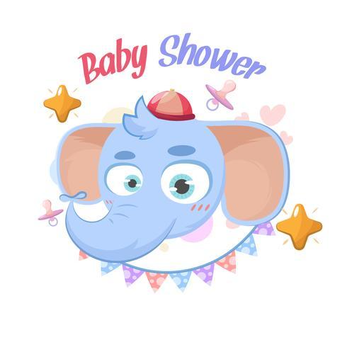 Baby shower elefante saluti