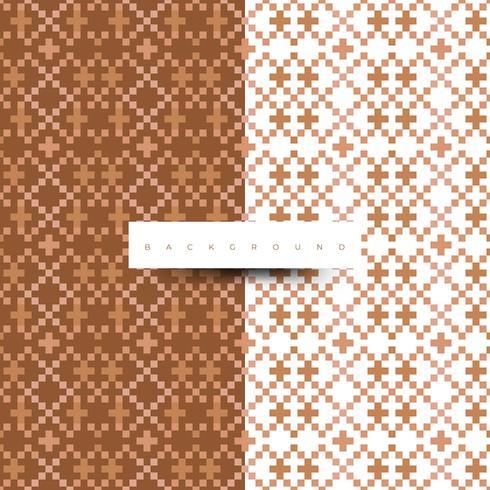 Digitale textuur. Trendy patroon met bruine kleur