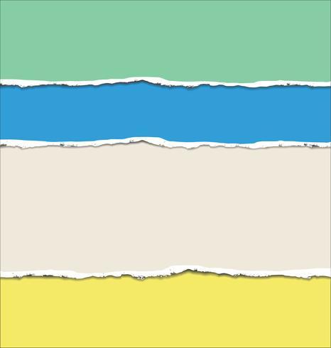 Fondo de papel rasgado abstracto