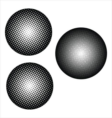 fondo de medios tonos vector
