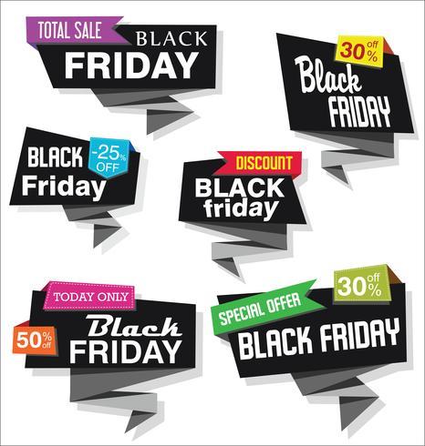 insignias de viernes negro