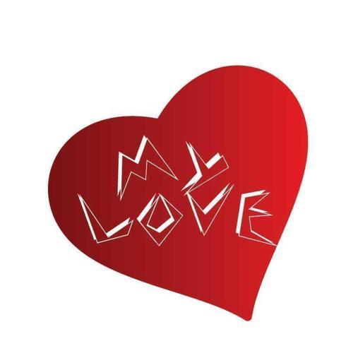 Alla hjärtans dag Special Vector Design för din kärlek