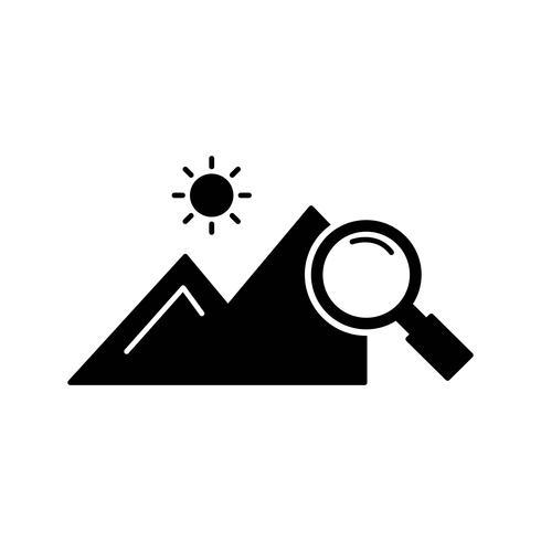 vecteur explorer nature icon