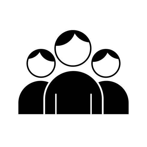 icono de usuarios vectoriales