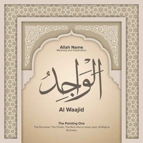 99 namn på Allah med Betydelse och Förklaring