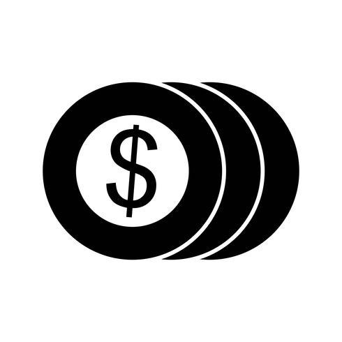 icona di monete vettoriali