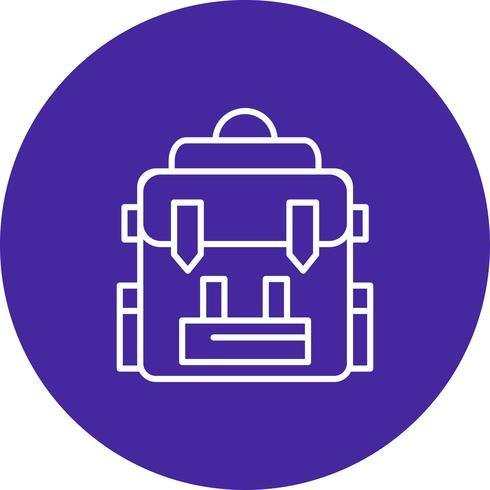 Icono de bolsa de vectores