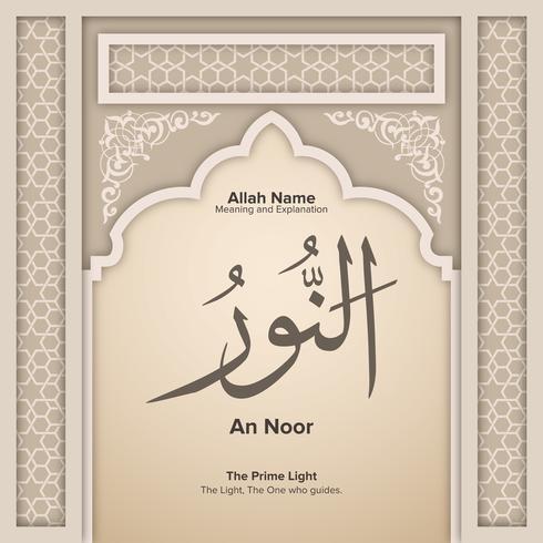 99 Namen Allahs mit Bedeutung und Erklärung