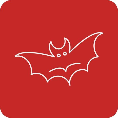 Vektor Fledermaus Symbol