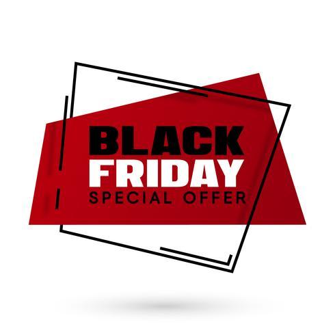 Black Friday verkoop vectorillustratie
