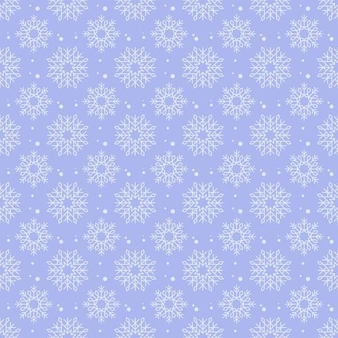 Schneeflocken Hintergrundmuster