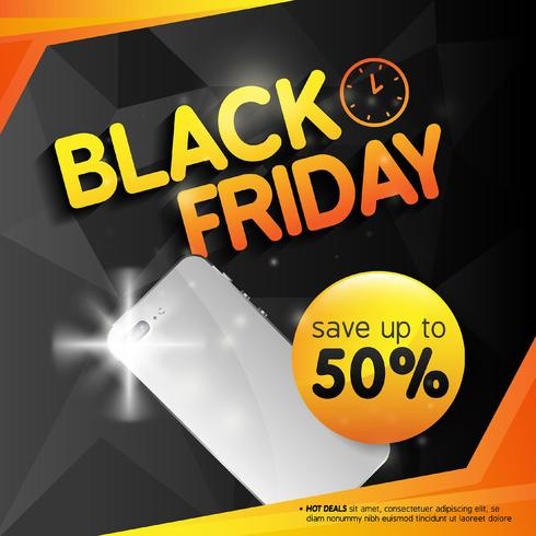 Black Friday sale design template