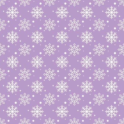 Motif de fond de flocons de neige