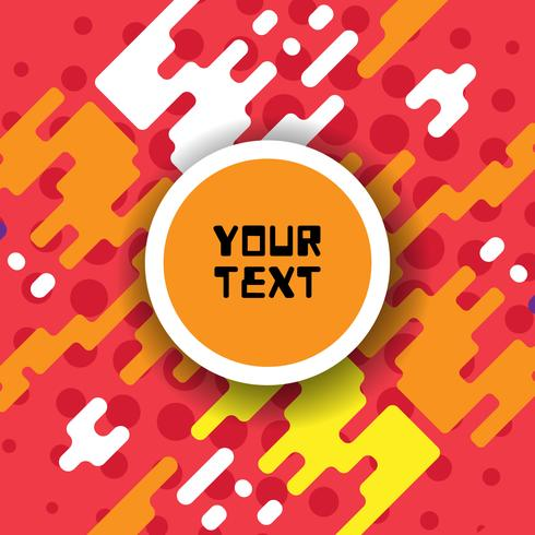 Abstracte kleurrijke achtergrond voor reclame, vectorillustratie