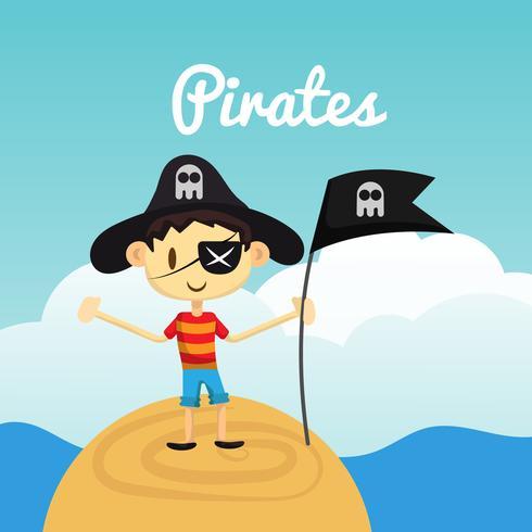 Piratas criança