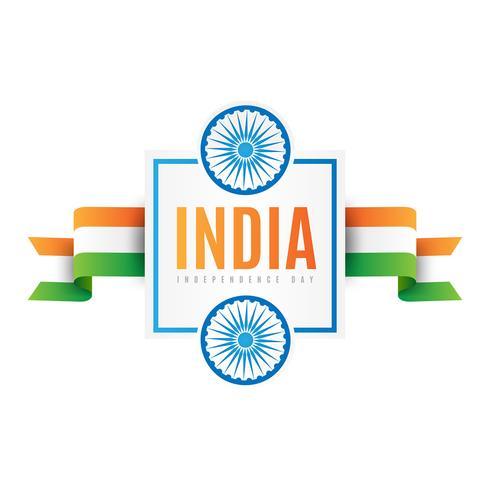Fond de fête de la fête de l'indépendance de l'Inde