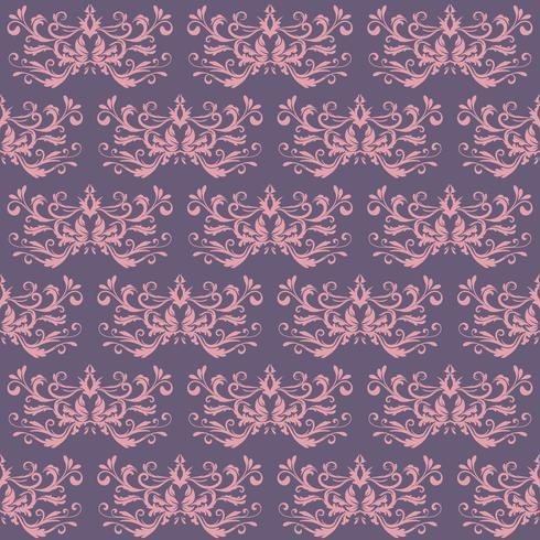 Ornamento rosa e viola