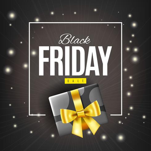 Caja de regalo viernes negro
