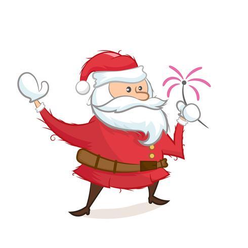 Illustrazione di Babbo Natale
