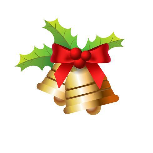 Goldene Weihnachtsglocken
