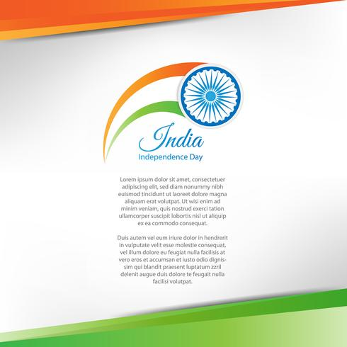 Independence Day of India. 15 agosto