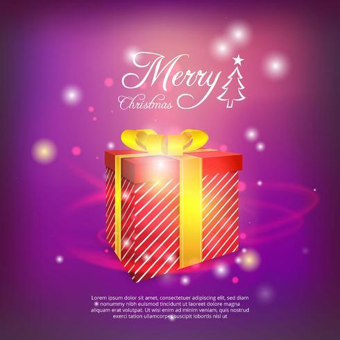 Sfondo di regali di Natale