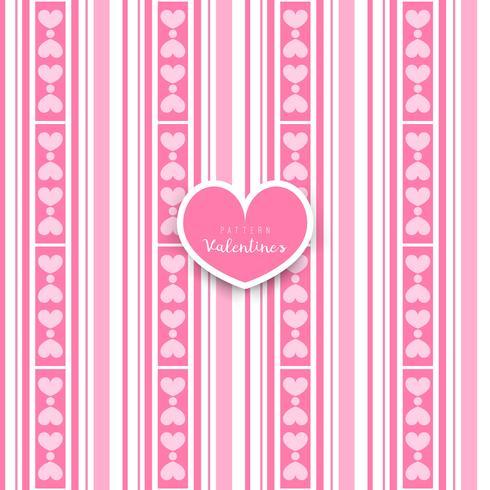 Valentijnsdag. naadloze patroon met hart