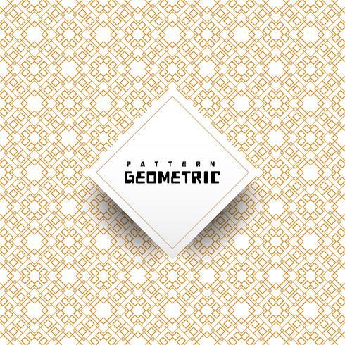 Geometrisch patroon van elkaar kruisende lijnen