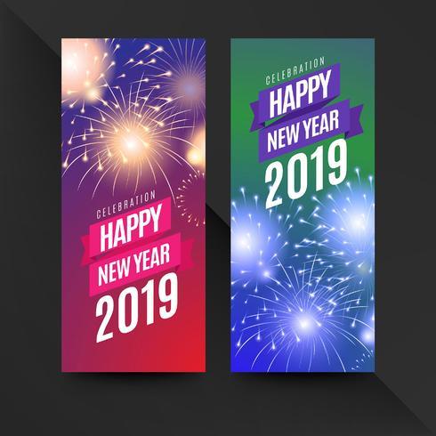 2019 Flyer des neuen Jahres