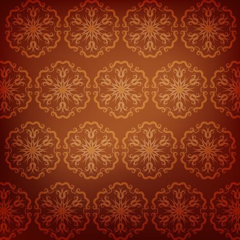 Brown-Mandalamusterhintergrund