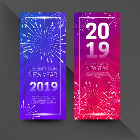 Folleto de año nuevo 2019