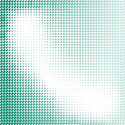 Fondo verde abstracto con hexágono