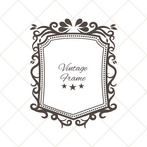 Decoratief vintage frame