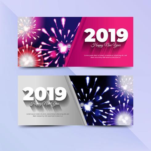 2019 nytt år flyger