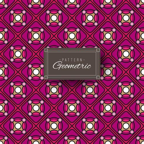 Roxo, padrão geométrico