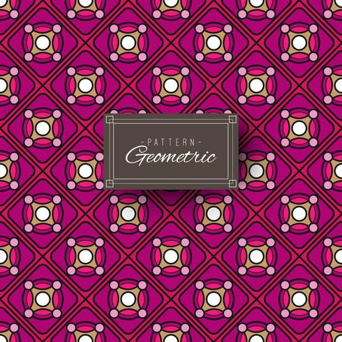 Motivo geometrico viola