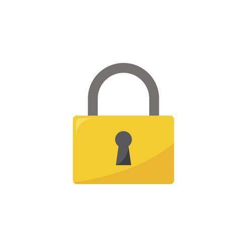 Illustration de l'icône de cadenas