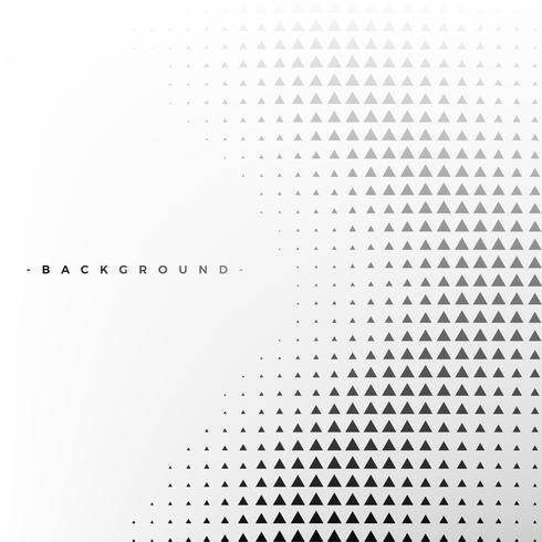 Fondo abstracto blanco y negro con triángulo