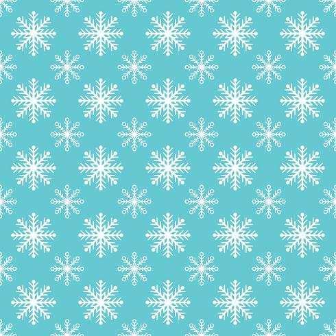 Pattern di sfondo dei fiocchi di neve