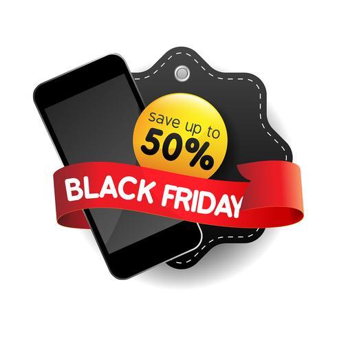 Modèle de conception de vente Black Friday