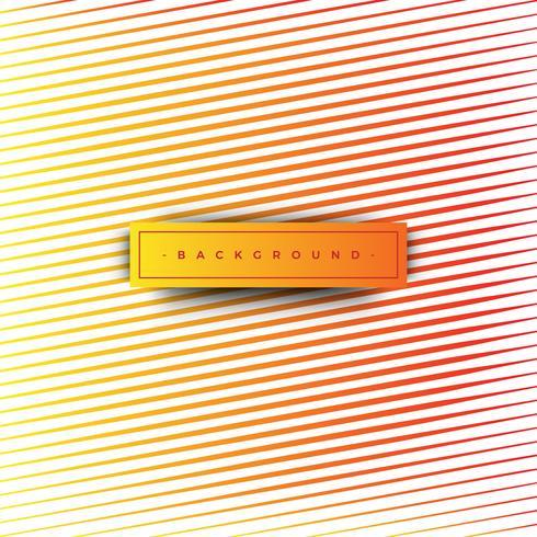 Abstrakte orange Hintergrundbeschaffenheit mit Linien