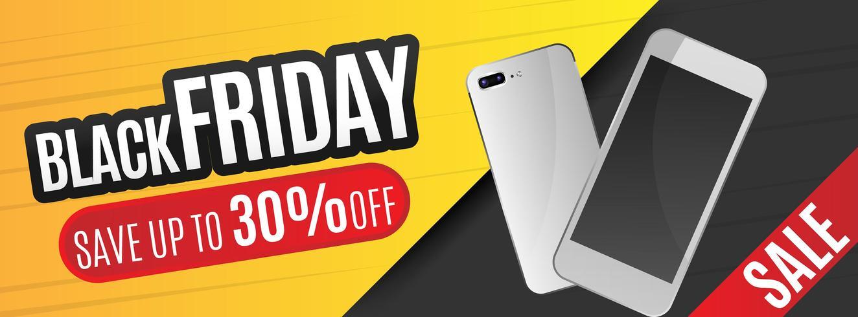 Black Friday-verkoop ontwerpsjabloon