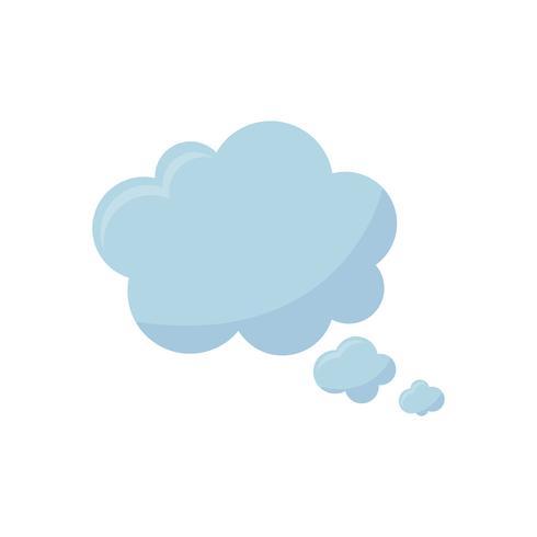 Illustration de l'icône de la bulle de dialogue